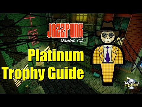 Jazzpunk | Trophy Guide - 1 Hour Platinum! (With Commentary)