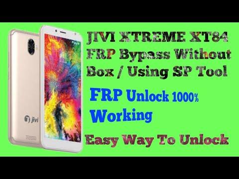 JIVI XTREME XT84 FRP Bypass Unlock Without Box/SP Tool 1000
