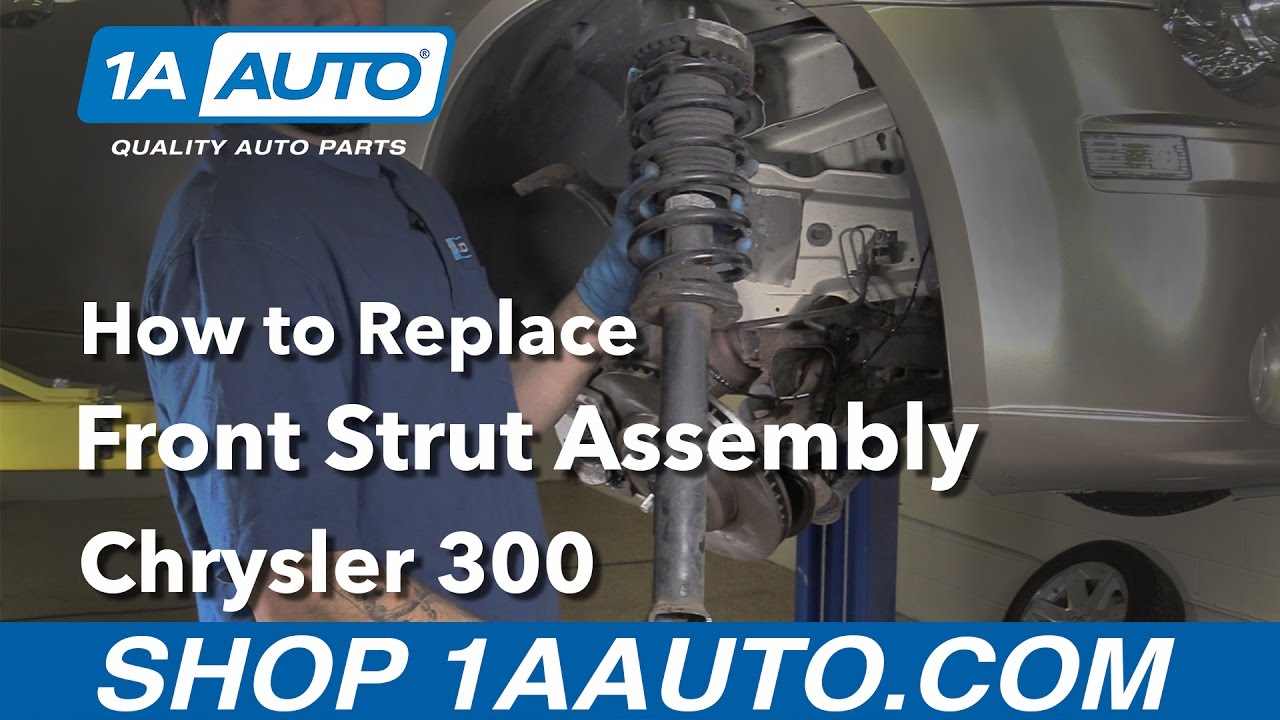 hight resolution of how to replace front struts 05 10 chrysler 300