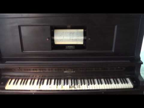 Boogie Woogie Bugle Boy Piano Roll - 1925 Cunningham Player Piano