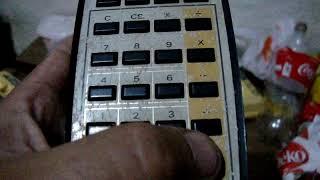 rara antiga calculadora texas …
