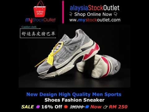 New Design High Quality Men Sports Shoes Fashion Sneaker