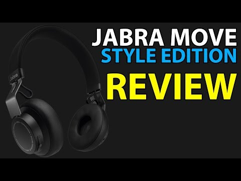 Jabra Move Style Edition Wireless Bluetooth Headphones Review \w Microphone Test