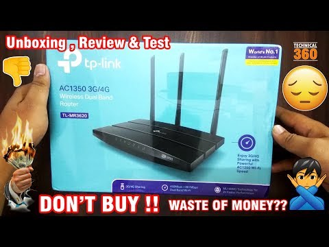 tp-link-mr-3620-3g/4g-wifi-router-unboxing,-review-&-test-|-don't-buy-|-technical360