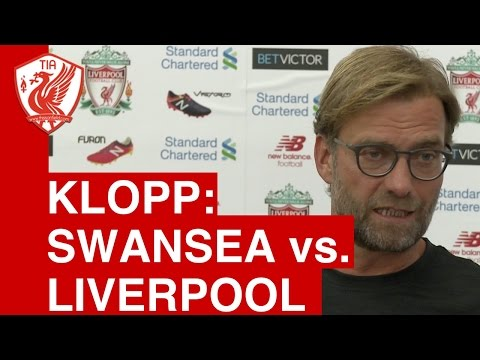 Jurgen Klopp Pre-match press conference - Swansea City vs. Liverpool