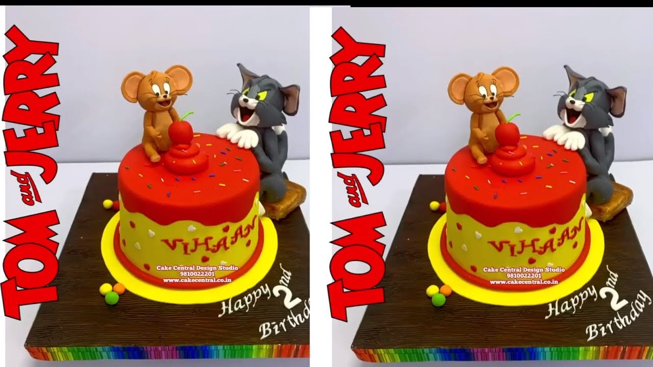 ORDER TOM & JERRY CAKE IN DELHI ONLINE