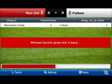 Football Manager Handheld 2013 .apk on Android video gameplay review