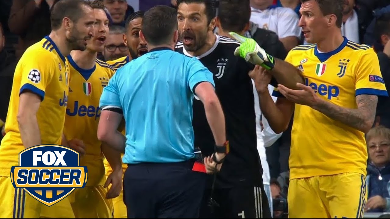 Gianluigi Buffon blasts ref over Real Madrid penalty call | FOX SOCCER