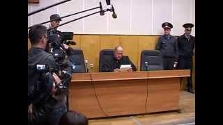 Белгородский убийца в зале суда
