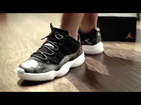 "eca9b5945cc3da Air Jordan 11 Low ""Barons"" + On Foot (Dope or Nope) - YouTube"
