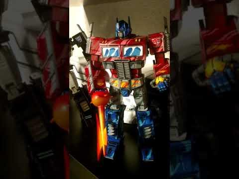 MP10 Masterpiece Optimus Prime 2D Comic Ver New