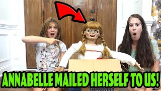 Annabelle MAILED Herself To Us! Escape Annabelle!