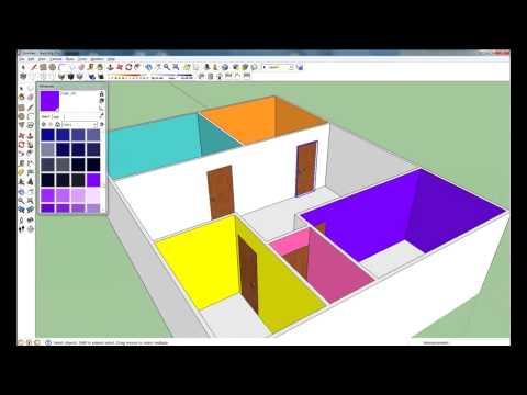 สร้างบ้านด้วยโปรแกรม SketchUp ใน 20 นาที