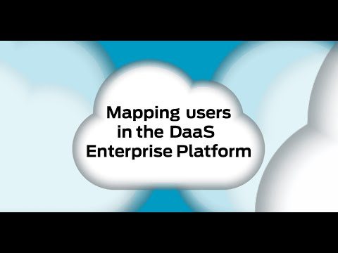 Evolve IP - Mapping Users in the DaaS Enterprise Platform