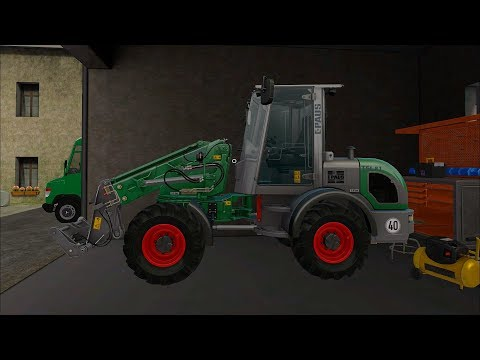Farming Simulator 17 - Forestry and Farming on The Valley The Old Farm 077 thumbnail