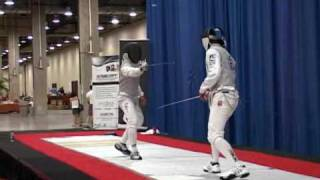 Fencing - Summer Nationals Y14 Boy