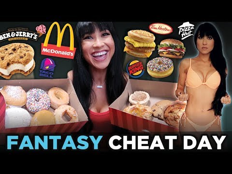 FAST FOOD CHEAT DAY | Donuts, Pizza, Ice Cream, Cookies & MORE