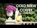 Cold Brew Coffee in Paris with Treize au Jardin - I Drank Way Too Much Coffee To