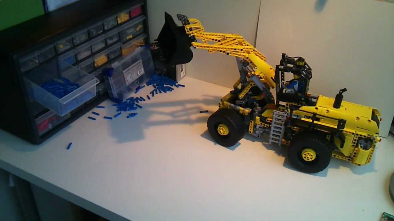 lego technic moc rc swingloader youtube. Black Bedroom Furniture Sets. Home Design Ideas