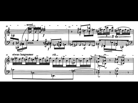 Schoenberg: Suite for Piano, Op25 Boffard