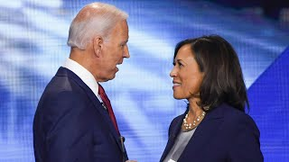 video: Kamala Harris vows to fight racism as she makes history as first woman of colour to accept VP nomination