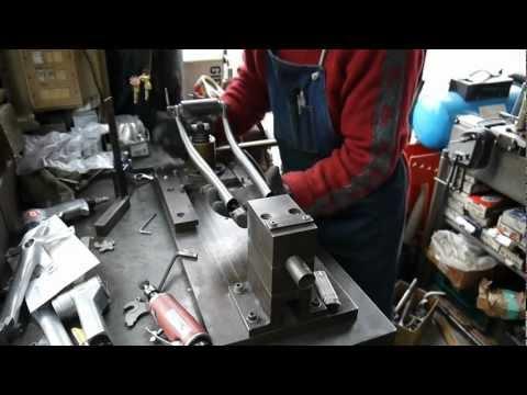ランドナーの製作 1 (フロントフォーク)