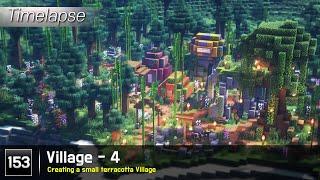 [마인크래프트 건축] 153. 마을 - 4 / 작은 테라코타 마을 만들기