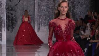 The Snow Crystal Forest Ziad Nakad Haute Couture F/W 17-18 show