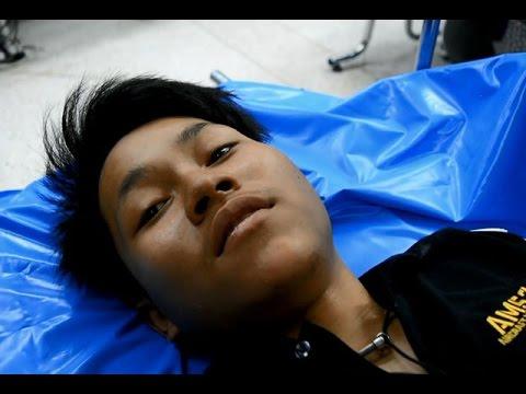 หนุ่มผู้รอดชีวิตเปิดใจวินาทีหนีตายรถตู้ชนกระบะ25ศพ