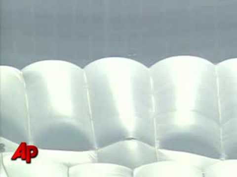 Raw Video: Big Dome in Indy Deflates