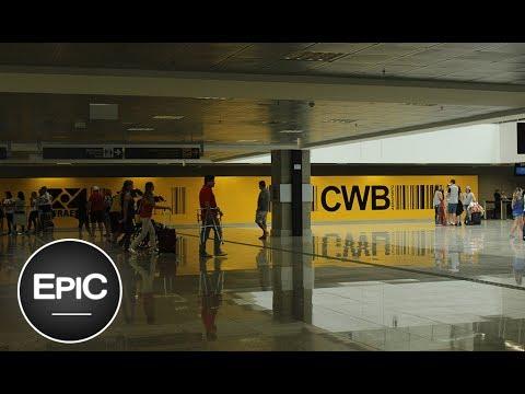 Curitiba International Airport (Afonso Pena), Brazil / Aeropuerto de Curitiba, Brasil (HD)