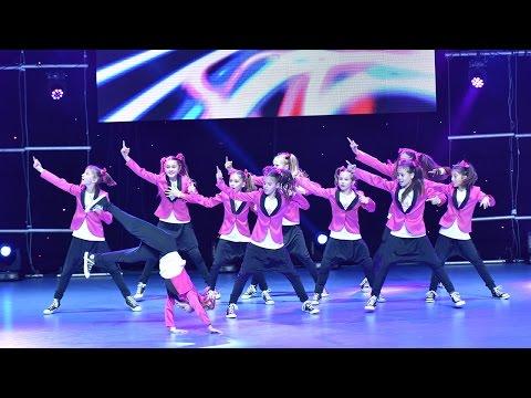 FIRECRACKERS - 1st Place Hip Hop Group Kids / Dance Fest Novi Sad 2014 / AQUA