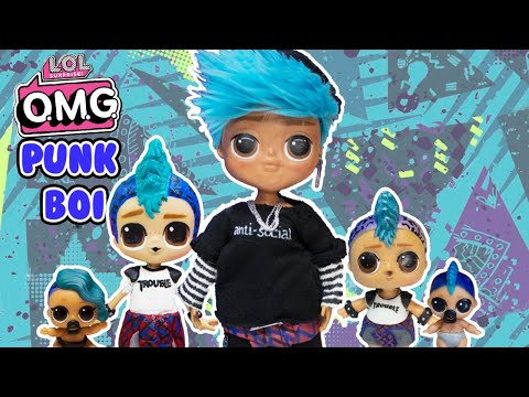 LOL OMG Makeover DIY Punk Boi Big Brother First OMG Boy |  Mp3 Download
