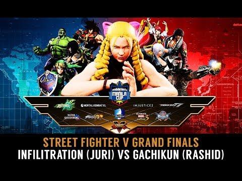GRAND FINAL: Infiltration (Juri) vs Gachikun (Rashid) - Manila Cup 2017 - Street Fighter V