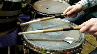 Приёмы звукоизвлечения на малом барабане обучение