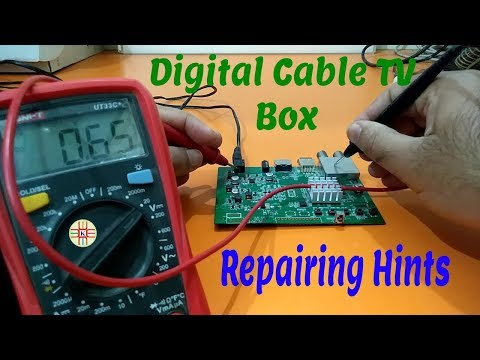 Digital Cable TV Box Repairing Hints In Urdu/Hindi