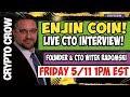 LIVE Enjin Coin CTO Interview w Witek Radomski 😱 Gaming Platform Crypto