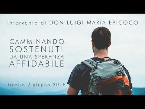 Don Luigi Maria Epicoco - Camminando sostenuti da una speranza affidabile - Treviso 2018