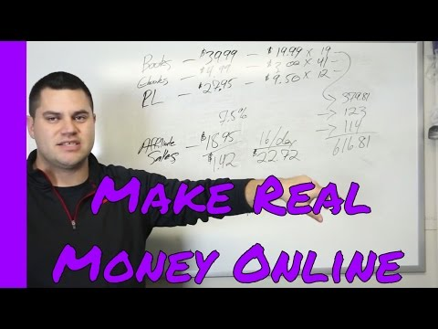 Make Real Money Online - See Inside My Numbers