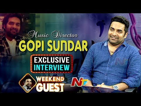 Music Director Gopi Sundar Exclusive Interview | Geetha Govindam | Weekend Guest | NTV