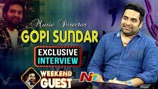 Music Director Gopi Sundar Exclusive Interview | Geetha Govindam | Weekend Guest | NTV
