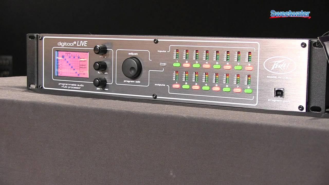 peavey digitool live sound reinforcement processor overview