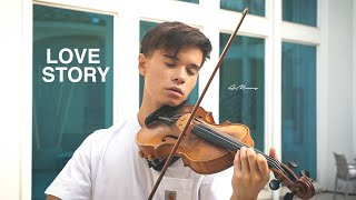 LOVE STORY (Taylor Swift) - Violin Cover by Alan Milan