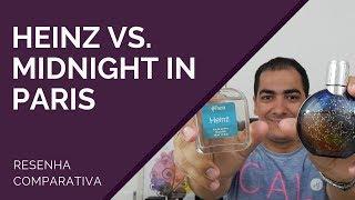 COMPARATIVO DE PERFUMES | HEINZ vs MIDNIGHT IN PARIS