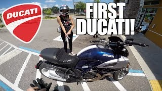 Ducati Diavel Test Ride - Found A Passenger!