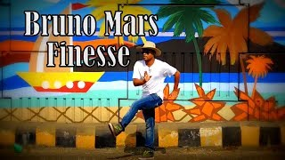 Bruno Mars - Finesse (Remix) [Feat. Cardi B] | popping Dance