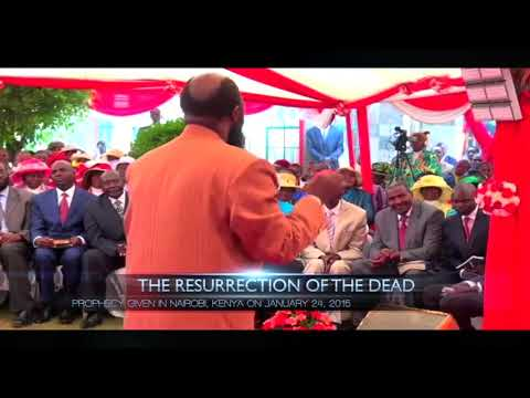 JANUARY 24, 2015 PROPHECY ON THE RESURRECTION OF MAMA ROSA AS PREDICTED VIDEO - PROPHET DR. OWUOR