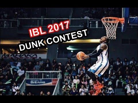 IBL Dunk Contest 2017 Highlights (Semua Dunk Yang Masuk)