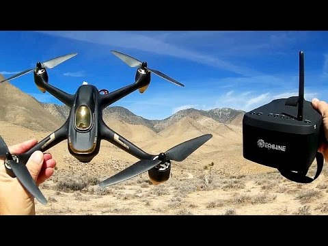 Hubsan H501S Follow Me GPS FPV Vacation Drone Flight Test Review