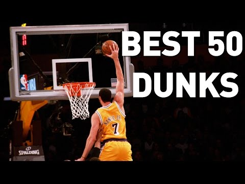 Best 50 Dunks October and November: 2016-2017 NBA Season